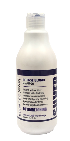 Jeval Infusions Intense Blonde Anti-Yellow Silver Shampoo 500ml (OLD PACKAGING)