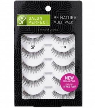 Salon Perfect Strip Lashes- 110 4pk+1FREE