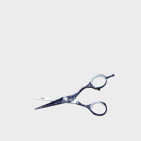 JAGUAR Diamond E Vamp Black Glitter Scissors 5 Inch