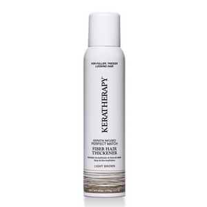 Keratherapy Fiber Hair Thickener- Light Brown 151ml