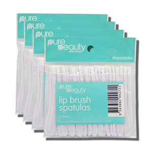 Pure Beauty Santorini Lip Brush Spatulas 100pk
