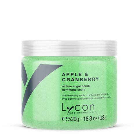 LYCON Sugar Scrub Apple & Cranberry - 520g