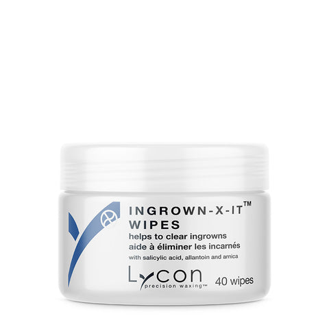 Lycon Ingrown X It Wipes