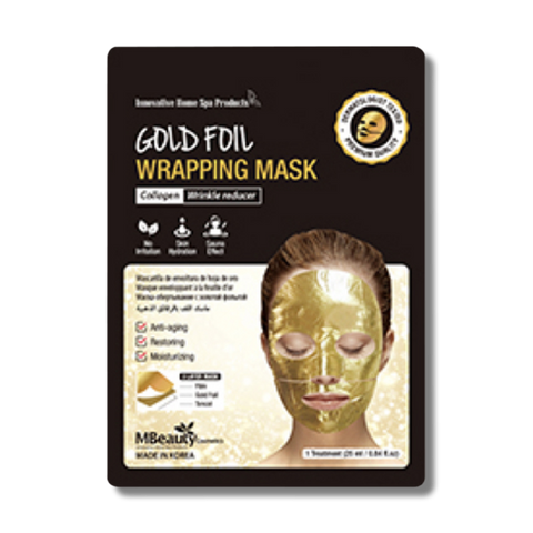 MBeauty Gold Foil Wrapping Mask