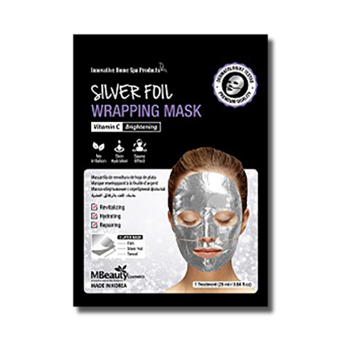 MBeauty Silver Foil Wrapping Mask-MBeauty Cosmetics-Beautopia Hair & Beauty