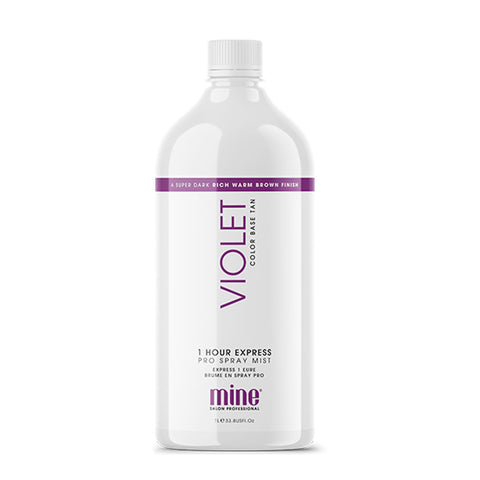 Mine Tan Violet 1 Hour Tan Solution 1 Litre