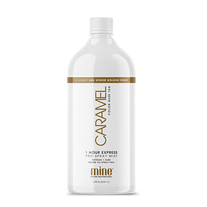 Mine Tan Caramel 1 Hour Tan Solution 1 Litre