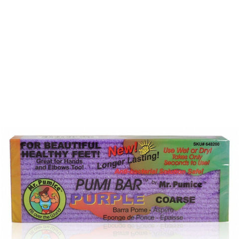Mr Pumice Purple Pumi Bar - Coarse