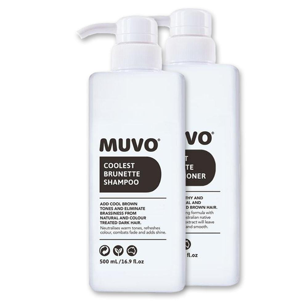 MUVO Coolest Brunette Perfect Pair Pack 500ml