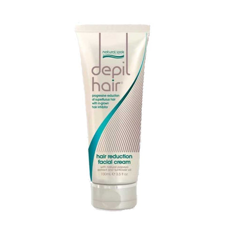 Natural Look Depil-Hair Hair Reduction Facial Cream - 75ml
