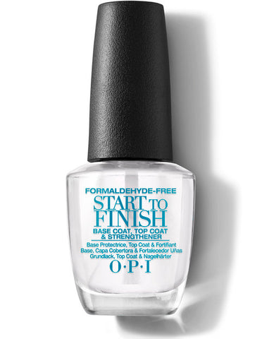 OPI Start To Finish Formaldehyde Free Formula 3-in-1 Treatment 15ml