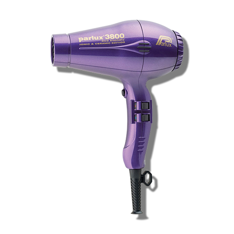Parlux 3800 Ceramic & Ionic Hair Dryer - Purple