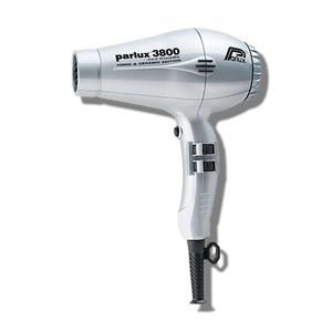 Parlux 3800 Ceramic & Ionic Hair Dryer - Silver