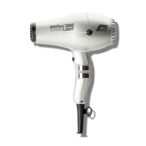 Parlux 385 Power Light Ceramic & Ionic Hair Dryer - Silver