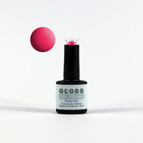 Gloss Full Cure UV/LED Gel Polish - Party Girl