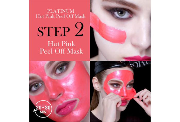 Double Dare OMG! Platinum Pink Facial Mask Kit