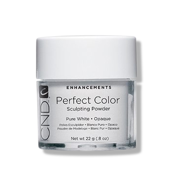 CND Sculpting Powder - Pure White Opaque - 22g