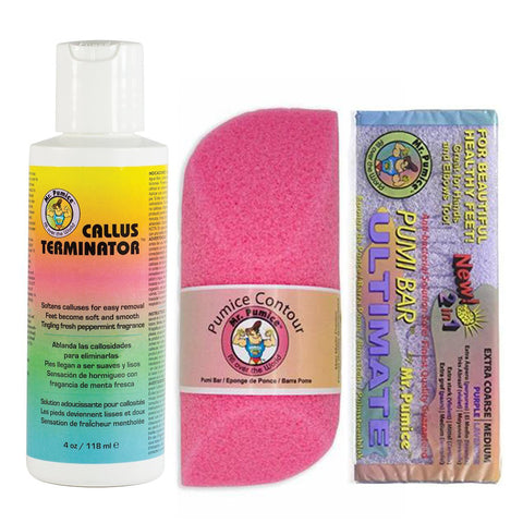Mr Pumice Callus Eliminator Pack