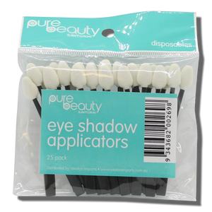 Pure Beauty Santorini Eye Shadow Applicators - 25pk