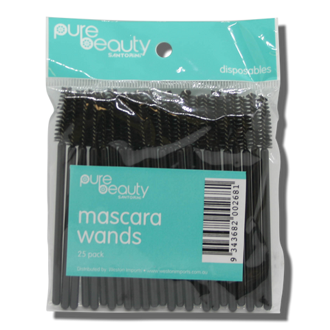 Pure Beauty Santorini Mascara Wands - 25pk