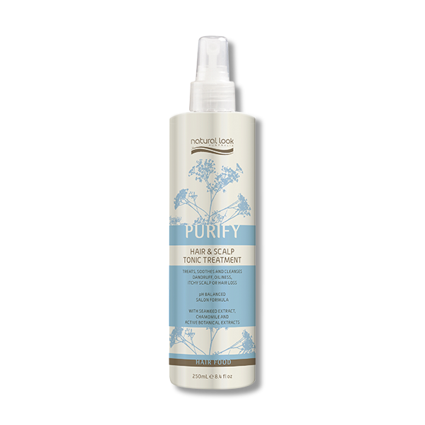 Natural Look Purify Hair & Scalp Tonic Treatment Spray - 250ml