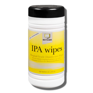 Reynard IPA Wipes Hospital Grade Disinfectant Alcohol Wipes - 160 pack