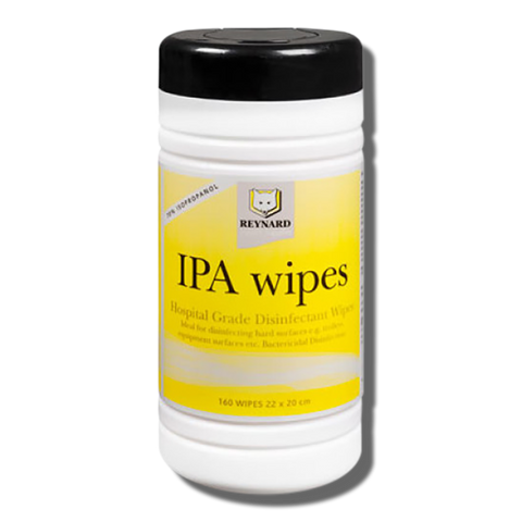 Reynard IPA Wipes Hospital Grade Disinfectant Alcohol Wipes - 120 pack