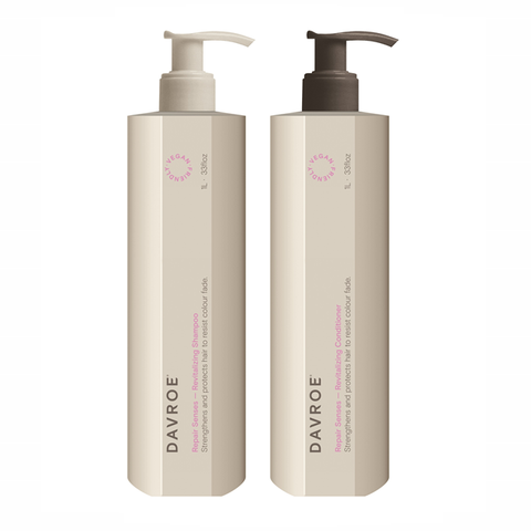 Davroe Repair Senses Revitalising Shampoo & Conditioner Duo 1L