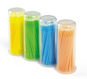 Disposable Micro Brushes 100 Pack