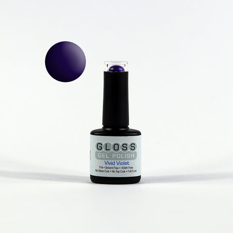 Gloss Full Cure UV/LED Gel Polish - Vivid Violet