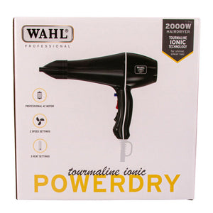 Wahl Professional Tourmaline Ionic Powerdry Black
