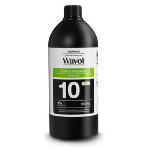 Wavol Creme Peroxide 3% - 10 Vol 990ml