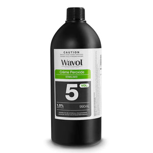 Wavol Creme Peroxide 1.5% - 5 Vol 990ml