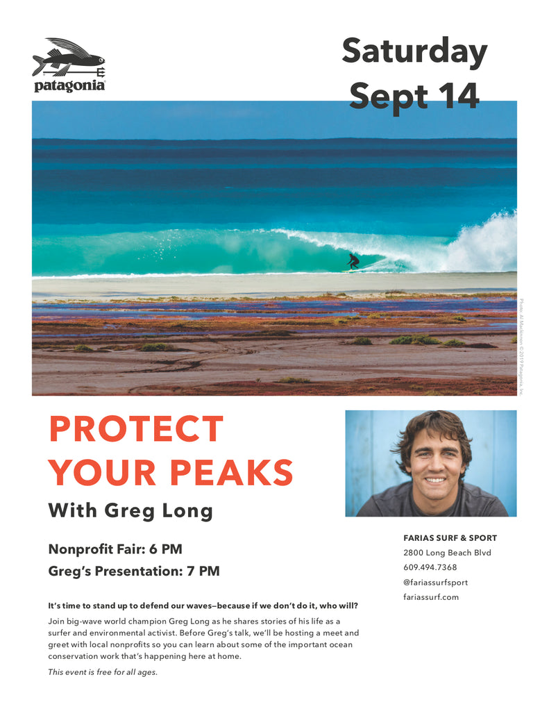 PROTECT YOUR PEAKS + PATAGONIA EVENT