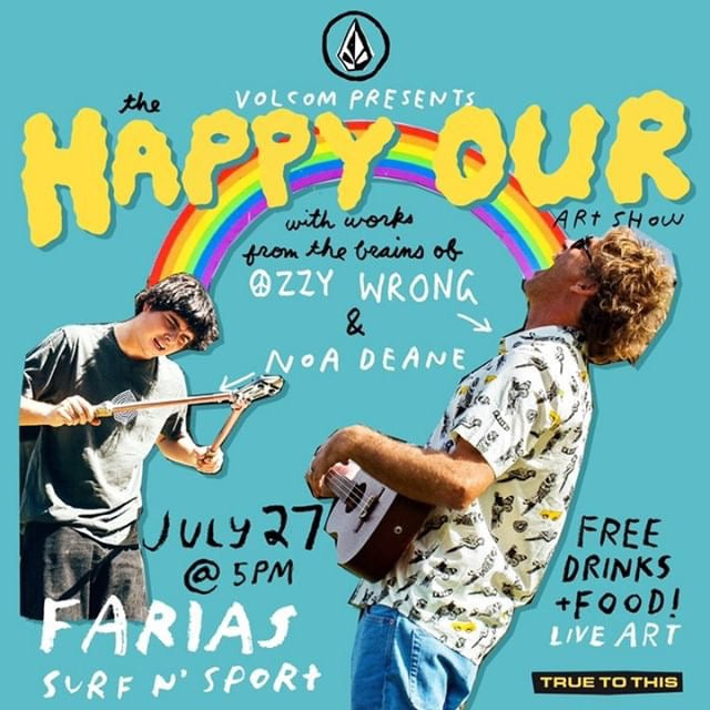 Volcom: Art Show + Happy Hour