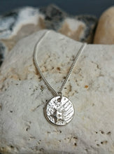 Load image into Gallery viewer, Shooting Star Recycled Silver Pendant