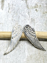 Load image into Gallery viewer, Spirit Wings Recycled Silver Earrings