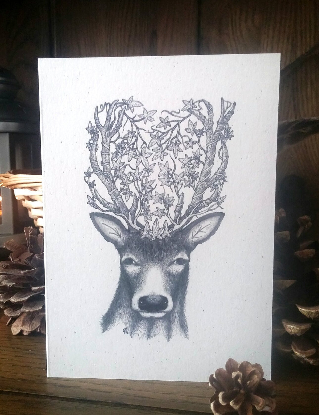 The Prince of Midwinter  Eco-Friendly Greetings Card