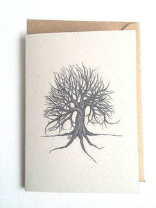 Witch Eyed Tree Eco-Friendly Greetings Card
