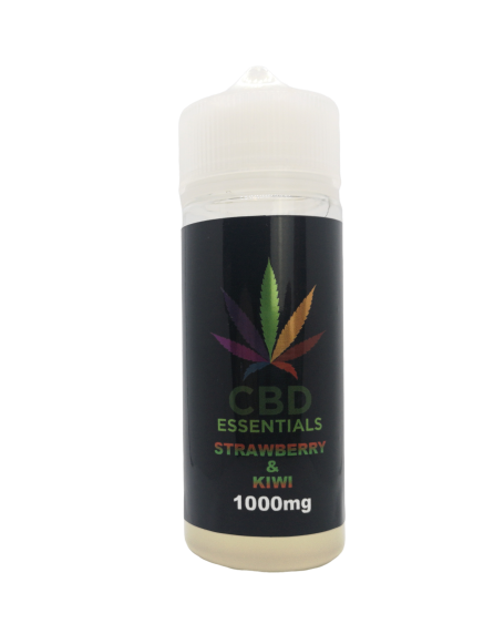 CBD Essentials - Strawberry & Kiwi E-Liquid 100ml