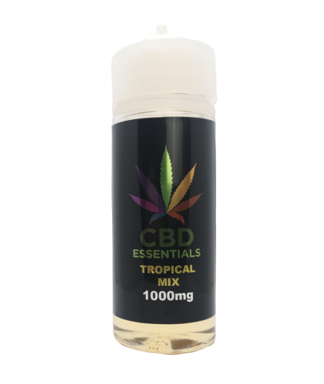 CBD Essentials - Tropical Mix E-Liquid 100ml