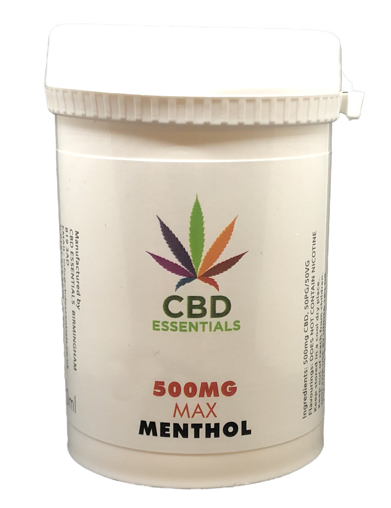 CBD Essentials E-Liquid (Menthol)