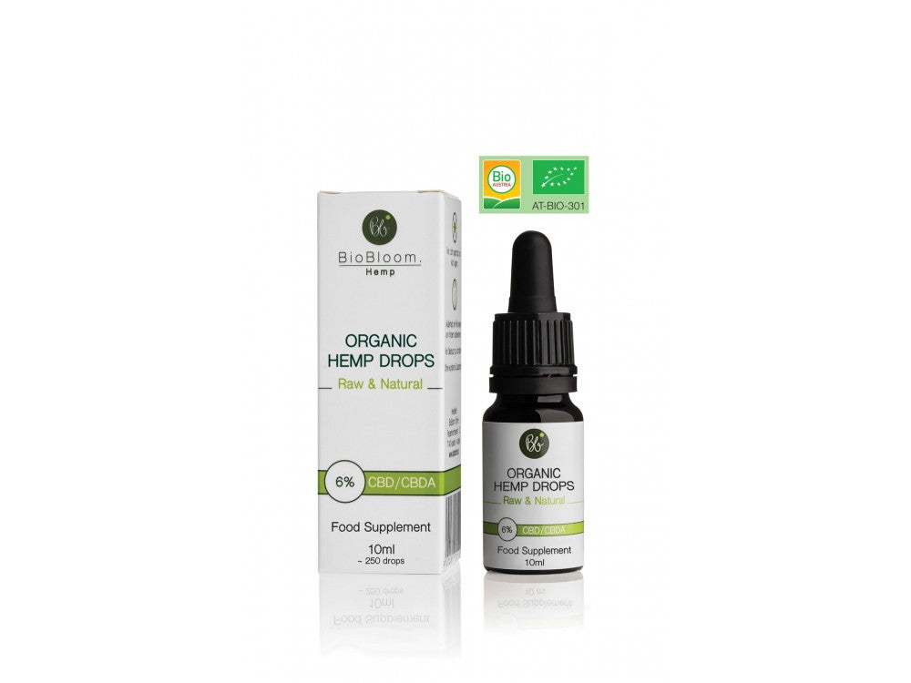BioBloom Organic CBD Oil - 600mg - 6% - 10ml