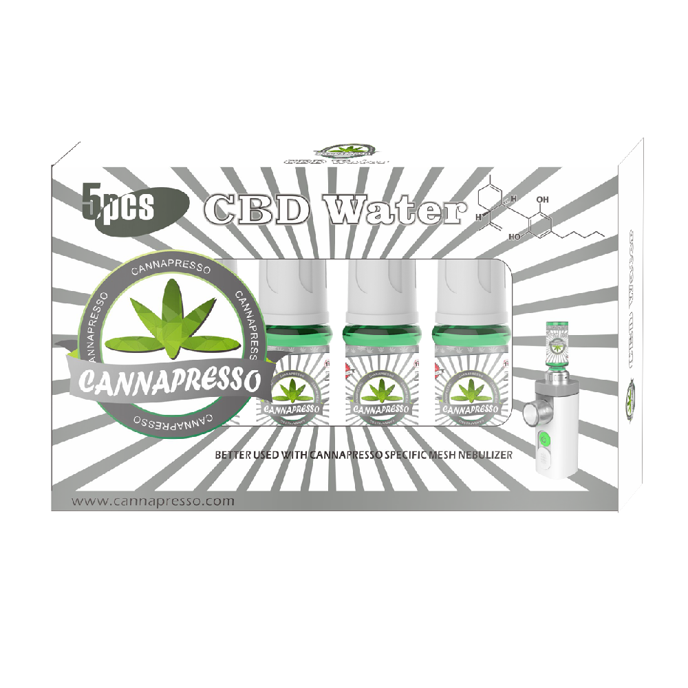 Cannapresso CBD Water 10ml 10mg (5pcs)