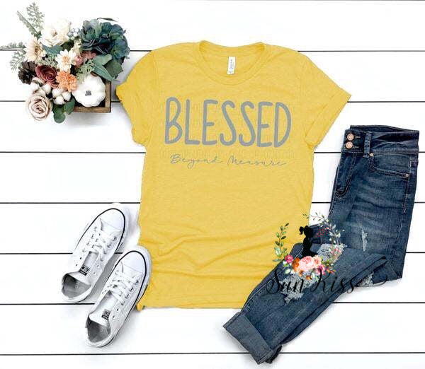 BLESSED Beyond Measure - SKC Boutique