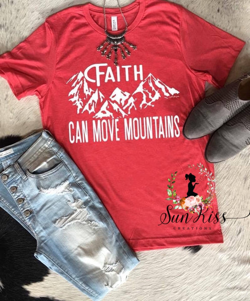 Faith Can Move Mountains - SKC Boutique