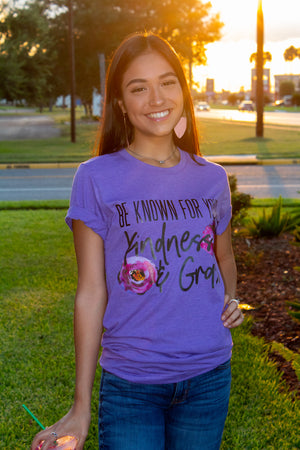 Be Known For Your Kindness & Grace Tee - SKC Boutique