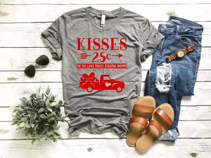 Kisses Tee - SKC Boutique