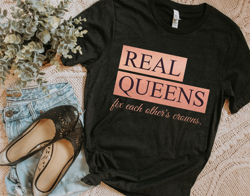Real Queens Tee - SKC Boutique