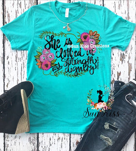 She Is Clothed In Strength And Dignity - SKC Boutique